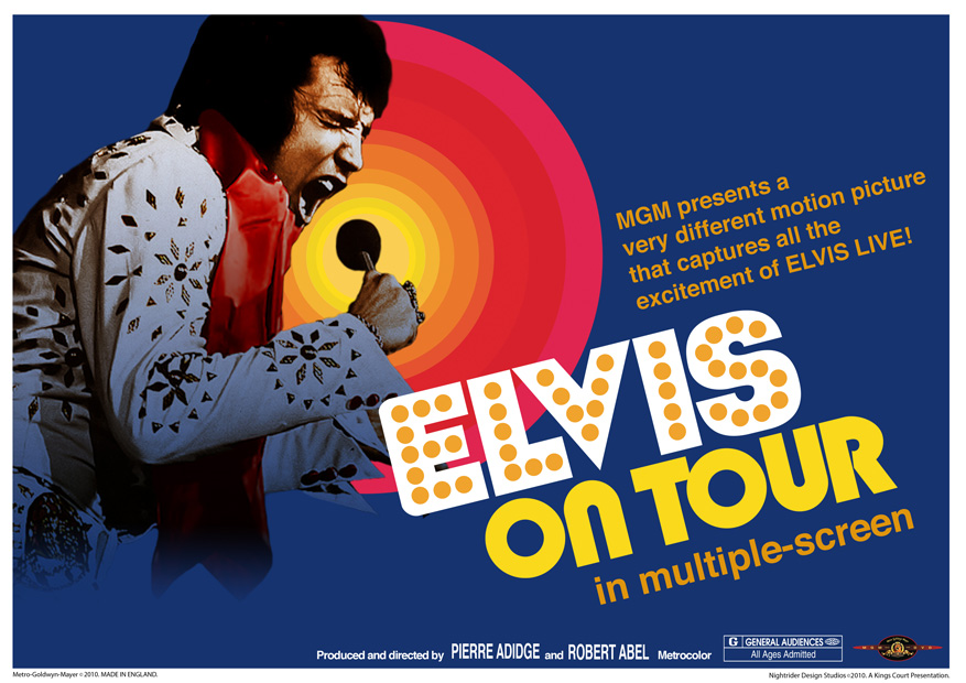 Image result for image, photo, picture, movie poster, elvis on tour
